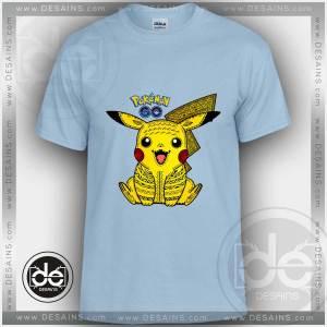 Buy Tshirt Pokemon Go Pikachu Tribal Tshirt Kids Children and Adult Tshirt
