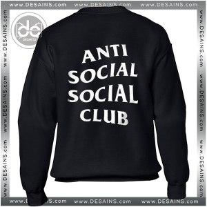 Sweatshirt Anti Social Social Club Sweater Womens and Sweater Mens