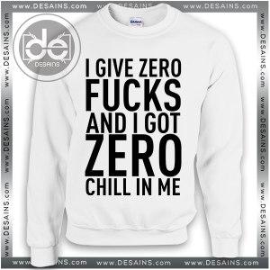 Sweatshirt No Make Up Just Chillin Sweater Womens and Sweater Mens