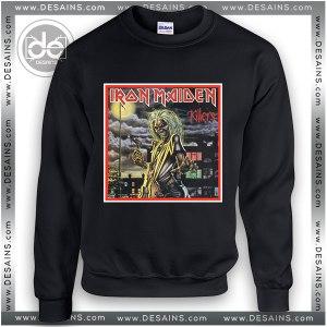 Sweatshirt Iron Maiden Killers Cover Sweater Womens and Sweater Mens