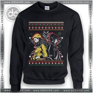 Sweatshirt Naruto Sasuke Christmas Sweater Womens and Sweater Mens