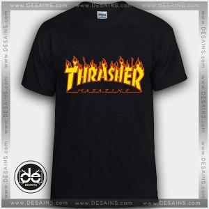 Tshirt Fire Thrasher Magazine Tshirt Womens Tshirt Mens Tees Size S-3XL