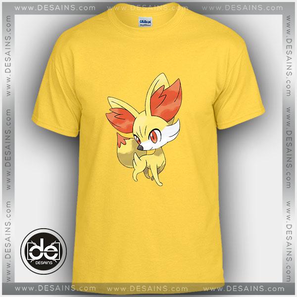 Buy Tshirt Fennekin Pokémon Tshirt Kids Youth and Adult Tshirt Custom