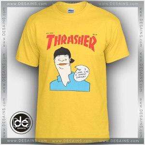Buy Tshirt Thrasher Gonz Yellow Tshirt Womens Tshirt Mens Tees size S-3XL