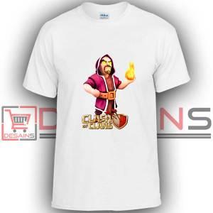 Buy Tshirt Clash Of Clans Wizard Tshirt Kids Youth and Adult Tshirt Custom