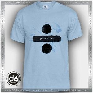 Buy Tshirt Ed Sheeran Divide Tshirt Womens Tshirt Mens Tees size S-3XL