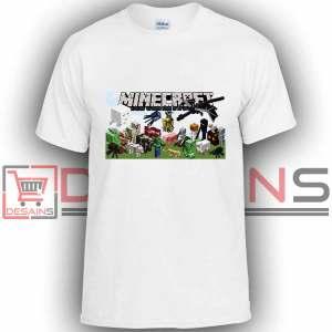 Buy Tshirt Minecraft Games Tshirt Kids Youth and Adult Tshirt Custom