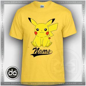 Buy Tshirt Pokemon Love Pikachu Tshirt Kids Youth and Adult Tshirt Custom