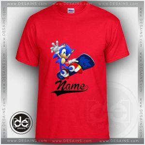 Buy Tshirt Sonic Skateboard Tshirt Kids and Adult Tshirt Custom