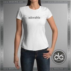 Buy Tshirt Adorable Girl Tshirt Womens Tshirt Mens Tees Size S-3XL