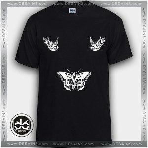 Buy Tshirt Harry Styles Oddly Large Butterfly Tshirt Womens Tshirt Mens Tees Size S-3XL Black