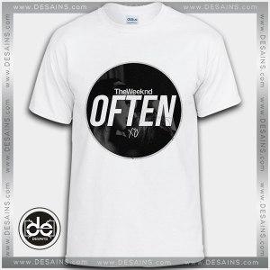 Buy Tshirt The Weeknd Often NSFW Tshirt Womens Tshirt Mens Tees Size S-3XL