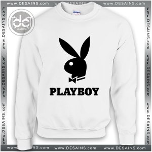 Buy Sweatshirt Playboy Logo Sweater Womens and Sweater Mens