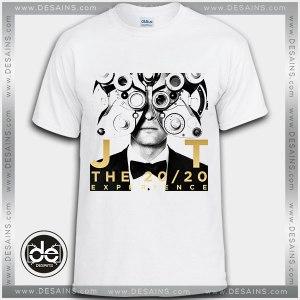 Buy Tshirt Justin Timberlake 20/20 Experience Tshirt Womens Tshirt Mens Tees Size S-3XL