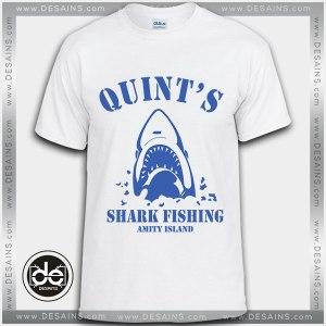 Buy Tshirt Quint's Shark Fishing Tshirt Womens Tshirt Mens Tees Size S-3XL
