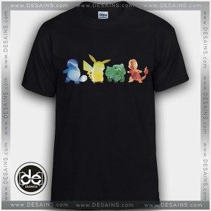Buy Tshirt Pokemon Water Electricity Earth Fire Tshirt Womens Tshirt Mens Tees Size S-3XL