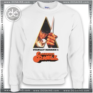 Buy Sweatshirt A Clockwork Orange Poster Sweater Womens and Sweater Mens