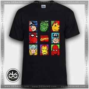 Buy Tshirt Marvel Comics Superhero Cartoon Tshirt Kids Youth and Adult Tshirt Clothes