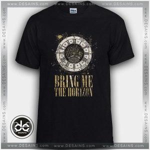 Cheap Tee Shirt Bring Me the Horizon Clock Custom Tshirt