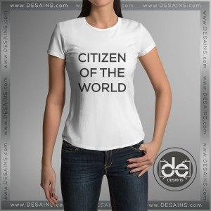 Cheap Tee Shirt Dress Citizen Of The World Custom T-Shirt
