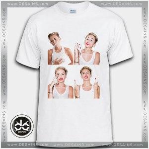 Cheap Tee Shirt Dress Miley Cyrus Smoking Custom Tshirt