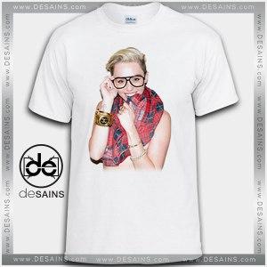 Cheap Graphic Tee Shirts Miley Cyrus Hot Tshirt On Sale