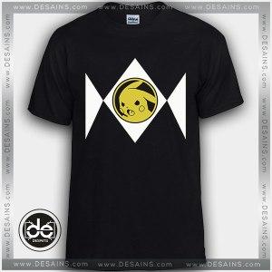 Cheap Graphic Tee Shirts Power Rangers Pokemon Tshirt Kids and Adult