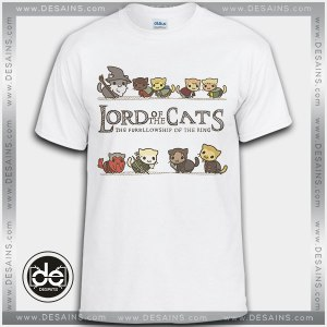 Cheap Tee Shirt Dress Lord of The Cats Tshirt On Sale