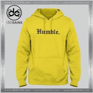Cheap Graphic Hoodie Humble Yellow Unisex Hoodies