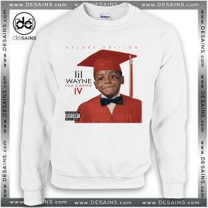 Cheap Graphic Sweatshirt Lil Wayne Tha Carter IV Album Cover