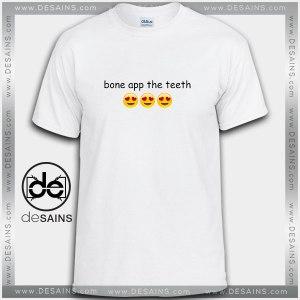 Cheap Graphic Tee Shirts Bone App the Teeth Bon Appetit