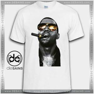 Cheap Graphic Tee Shirts Kanye West Smoking Tshirt on Sale