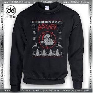 Best Ugly Christmas Sweatshirt Sleigher Santa Claus Review