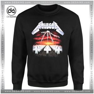 Cheap Graphic Sweatshirt Freddy Krueger Metallica Nightmare