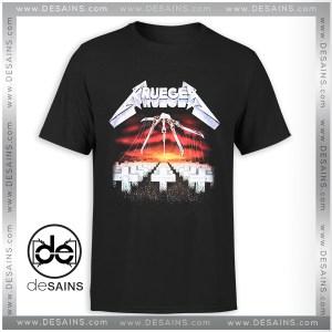 Cheap Graphic Tee Shirts Freddy Krueger Metallica Nightmare