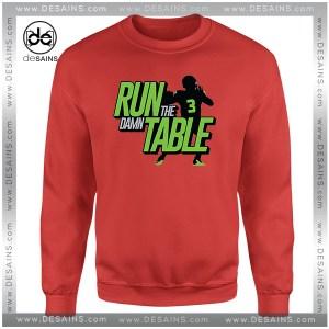 Cheap Graphic Sweatshirt Run the Damn Table Sweater On Sale