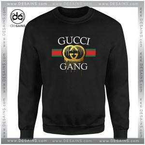Cheap Sweatshirt Funny Logo Gucci Gang