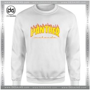 Cheap Sweatshirt Thrasher Panther Wakanda