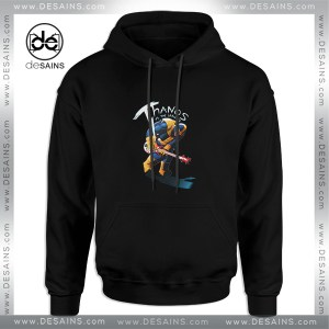 Cheap Graphic Hoodie Infinity War Thanos Guitar