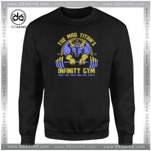 Cheap Graphic Sweatshirt Infinity Gym Thanos Avengers Infinity War