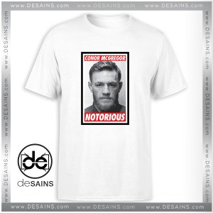 Cheap Graphic Tshirt Conor McGregor Notorious Mugshot On Sale