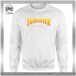 Cheap Sweatshirt Thrasher Skateboarding Trash Goblin