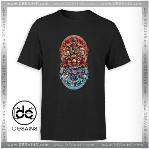 Cheap Tshirt Sub Zero vs Scorpion Mortal Kombat Fire and Ice