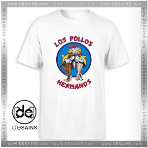 T-Shirt Breaking Bad Los Pollos Hermanos Tee Shirt Size S-3XL