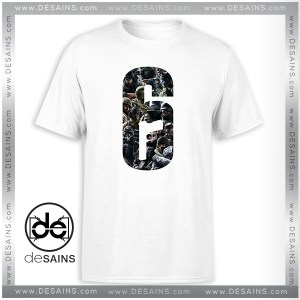 T-Shirt Rainbow Six Siege New Operators Tee Shirt Size S-3XL