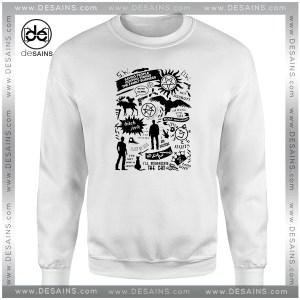 Sweatshirt Supernatural Stuff American Dark Fantasy Sweater Tv Series