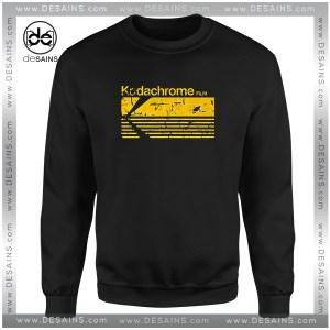 Cheap Graphic Sweatshirt Vintage Photography Kodak Kodachrome Size S-3XL