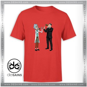 Rick And Archer With Drink Wine Tshirt Rick and Morty Tees