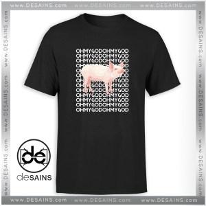 Tee Shirt Oh My God Pig Funny Tee Shirt Size S-3XL