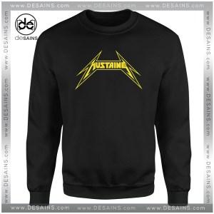Cheap Graphic Sweatshirt The Mustaine Metallica Crewneck Size S-3XL
